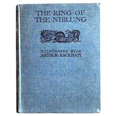 Arthur Rackham The Ring of the Niblung  1939