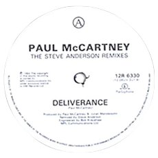 "Paul McCartney Deliverance Parlophone 12R 6330 12"" Single 1992"