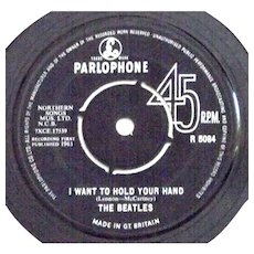 The Beatles I Want To Hold Your Hand & This Boy Parlophone R-5084 Single 1963