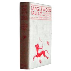 Edmund Dulac Tanglewood Tales  First Printing of this Edition 1938