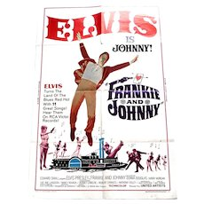 Elvis Presley Frankie and Johnny U.S. One-Sheet Film Poster 1966