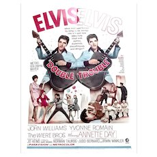 Elvis Presley Double Trouble U.S. One-Sheet Film Poster 1967