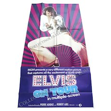 Elvis On Tour U.S. 3-Sheet Film Poster 1972