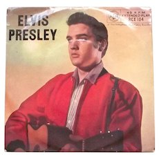 Elvis Presley With The Jordanaires EP Record RCX-104 1957