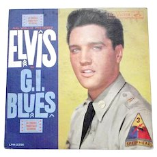 Elvis Presley G.I. Blues Film Soundtrack LP 1960