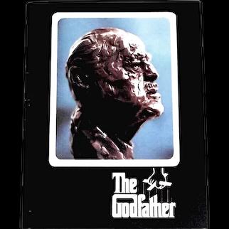 The Godfather Starring Marlon Brando Film Programme 1972