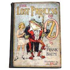 L. Frank Baum The Lost Princess of Oz circa 1929