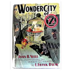 L. Frank Baum The Wonder City of Oz First Edition, First State 1940