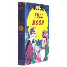 P.G. Wodehouse Full Moon First Edition Boo with Dust Jacket 1947