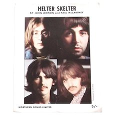 The Beatles Helter Skelter Sheet Music 1968
