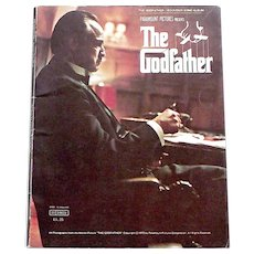 The Godfather Souvenir Film Song Album 1972