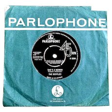 The Beatles I Feel Fine & She's A Woman Parlophone R-5200 Single 1964