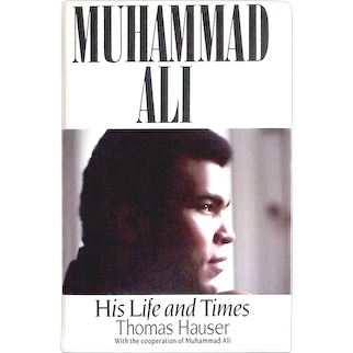 Muhammad Ali His Life and Times Signed First Edition Book 1991