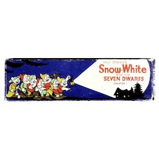 Walt Disney Snow White and the Seven Dwarfs Ensign Slides circa 1930's
