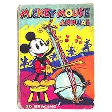 Walt Disney Mickey Mouse Annual 1934