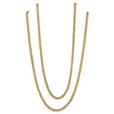 Rare Russian Gold Chain, Circa 1910