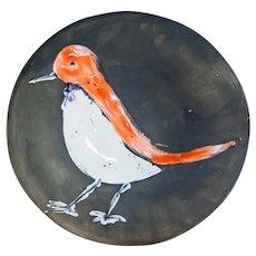 Pablo Picasso  - Madoura  - Bird Plate 96