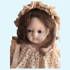 Mad ALICE - Wax Over Carton Maché Doll England 1840-1850