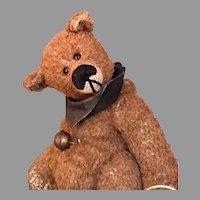 "Perplexed THEO OOAK 6 1/4"" FBS Bear By Bettina Springweiler Germany"
