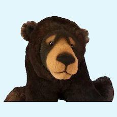 'BELLAGIO' Fabulous large OOAK Black Bear by Arlene Anderson, Lexington Bear Co. USA