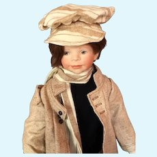 Very Rare Porcelain Boy Doll - ERIC #3/10 by Angelika Mannersdorfer, Germany