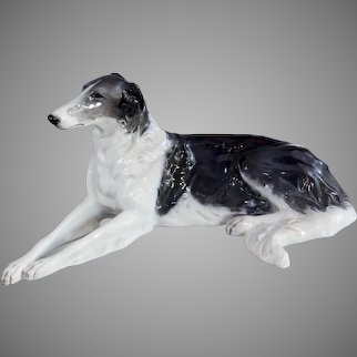 Large ART DECO ROSENTHAL Borzoi or Russian Wolfhound