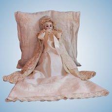"""Lovely""""So-called Belton type"""" Infant Doll –  All original"""