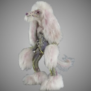 Wistful William the Afghan Hound Court Jester - One of a Kind #1/1