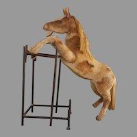 Rare Steiff Studio Pony vintage 1950-1960 Button in Ear.