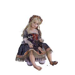 Rare Artist Doll by Sylvia Weser CAMILLE OOAK 1995