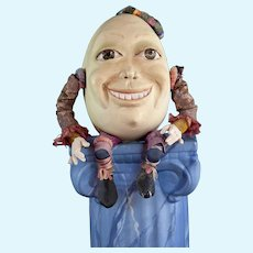 Humpty Dumpty OOAK Surreal Egg by Pattie Bibb