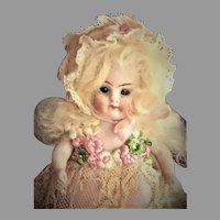 """""""Brigitte"""" Adorable French Market Mignonette KESTNER 208 0 1/2"""