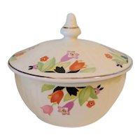 "Vintage Hall China ""Crocus"" Pattern Drip Bowl"