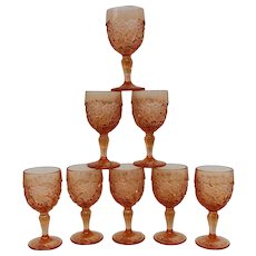 Vintage Degenhart Glass Cordial Glasses