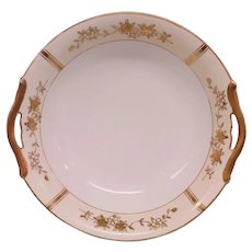 Vintage Art Deco Gilded Gold Cherry Blossom Noritake China Bowl