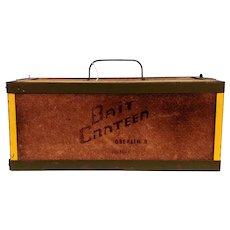 Vintage Bait Canteen Box
