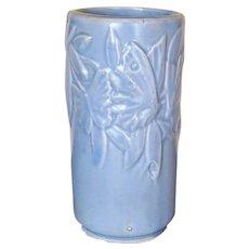 "Vintage Blue ""Butterfly"" Nelson-McCoy Vase"