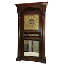 Phillip Smith Empire Clock from Marcellus, Onondaga County, NY