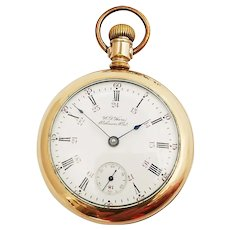 Hamilton  924 with Private Label, W.A.Hare Oshawa, Ont., 24 hour Dial