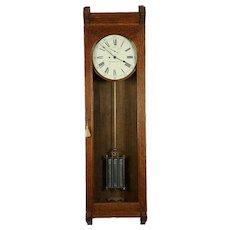 """Rare Waltham #13 Wall Regulator,original pristine 14 """"signed dial"""
