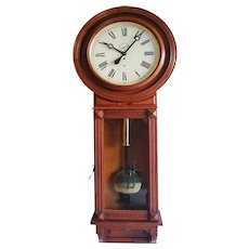 """Waterbury Clock Co. """"Regulator No. 66"""", ca 1906. A rare model, this is first we have seen"""