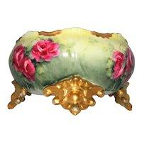 ~ Early Limoges French Porcelain Bowl / Fernier ~