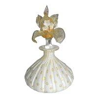 ~  Murano Perfume Bottle by Barbini for Salviati ~