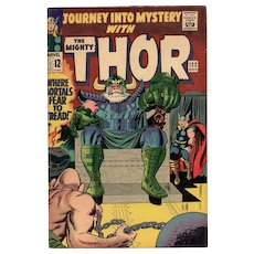 Journey into Mystery with the Mighty Thor Comic No 122 1965