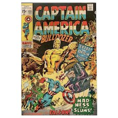 Captain America Comic No. 133 Jan. 1970