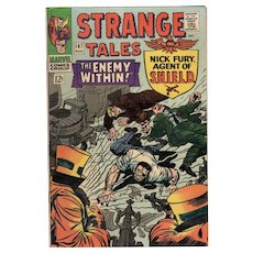 Strange Tales Marvel Comic No. 147 August 1966