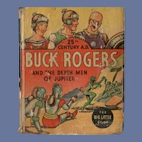 Buck Rodgers and the Depth Men of Jupiter Whitman Big-Little Book