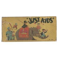 Just Kids Saalfield Big Little Book