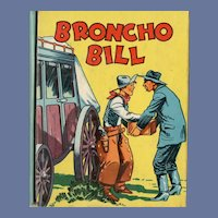 Broncho Bill Saalfield Big-Little Book
