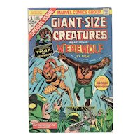 Giant-Sized Creatures featuring Werewolf No. 1 July 1974